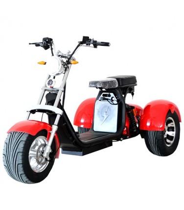 Электроскутер Citycoco Trike Red | Купить, цена, отзывы