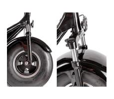 фото колеса Электроскутер Woqu CityCoco X1 1200W 20Ah