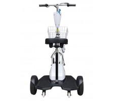 Электротрицикл Wellness Easy White, вид сзади