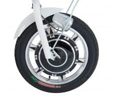Переднее колесо электротрицикла Wellness Easy White