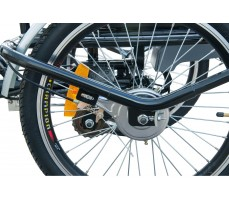 колеса электротрицикла Wellness Fazenda Black