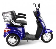 Электротрицикл Wellness Trike Blue, вид справа