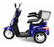Электротрицикл Wellness Trike Blue, вид слева