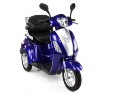 Электротрицикл Wellness Trike Blue, вид спереди