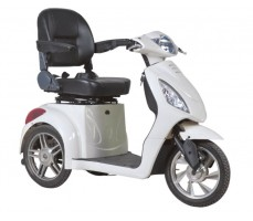 Электротрицикл Wellness Trike White, вид справа