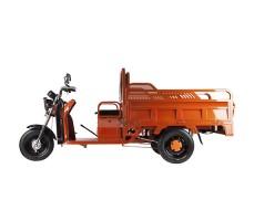 фото грузовой электрической тележки Green City D2 сбоку
