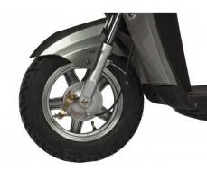 фото колесо переднее Электроскутер TRIKE Round L Black