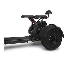 фото задних колес трехколесного электробайка CITYCOCO 1500W 20AH BLACK