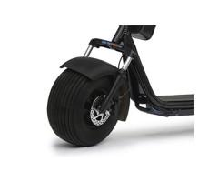 фото переднего колеса трехколесного электробайка CITYCOCO 1500W 20AH BLACK