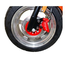 фото колеса электроскутера CITYCOCO LUX 1200W RED