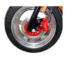 фото колеса электроскутера CITYCOCO LUX 1200W Brown