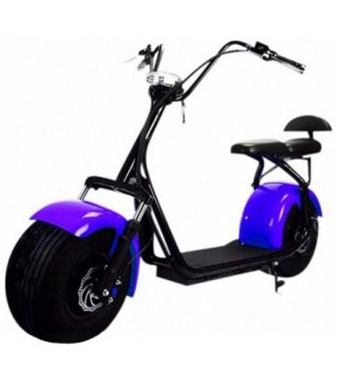 Электробайк CITYCOCO DOUBLE SEAT PURPLE | Купить, цена, отзывы