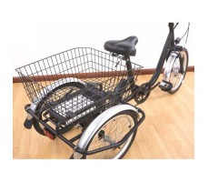 фото корзина Электротрицикл Elbike FARMER 350W 36v8a Black