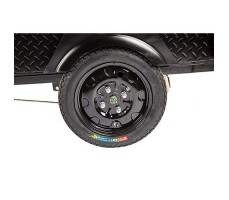 фото колесо Электротрицикл Rutrike D1 1200 60V900W Dark Gray