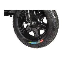 фото колесо переднее Электротрицикл Rutrike D4 1800 60V1200W Dark Gray