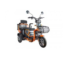 Электротрицикл Rutrike Pass S2 Orange трансформер