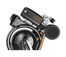 Электровелосипед Airwheel E3 Black в сложенном виде