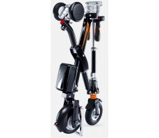 Электровелосипед Airwheel E6 Black в сложенном виде