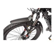 фото переднего колеса с крылом велогибрида Benelli FAT Nerone Lux
