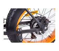 фото тормоза велогибрида Cyberbike Fat 350W