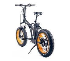 фото велогибрида Cyberbike Fat 350W вид сзади