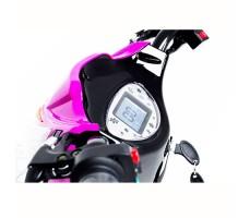 фото руля и дисплея электроскутера Elbike Dacha Pink