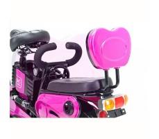 фото сидений электроскутера Elbike Dacha Pink