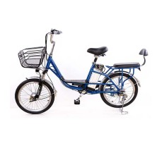 Электровелосипед Elbike DUET 250W 36v8ah Blue