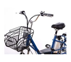 фото корзина Электровелосипед Elbike DUET 250W 36v8ah Blue