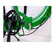 фото Складной электровелосипед Elbike Galant Vip 500W 48v10,4a White-green