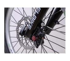 фото колесо переднее Складной электровелосипед Elbike Galant Vip 500W 48v10,4a White-green