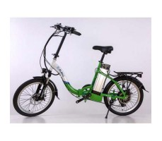 Электровелосипед Elbike Galant Vip 500W 48v10,4a White-Green