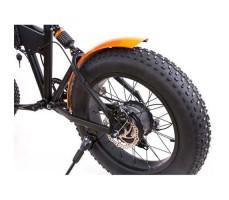 фото колесо заднее Складной электрофэтбайк Elbike MATRIX VIP 500W 48v8,8a Black-Orange
