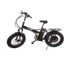 Электровелосипед Elbike TAIGA 1 с багажником 500W Black Matt