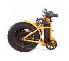 фото в сложенном виде Складной электрофэтбайк Elbike TAIGA 2 500W 48v10,4a Orange