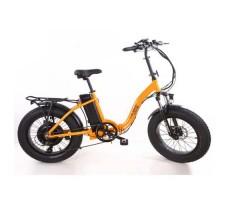 фото Складной электрофэтбайк Elbike TAIGA 2 с багажником 500W Orange