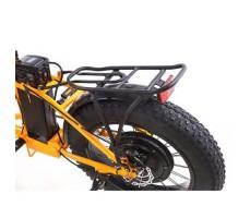фото багажник Складной электрофэтбайк Elbike TAIGA 2 с багажником 500W Orange