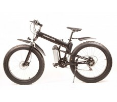Электровелосипед California Electro - Fatbike Black