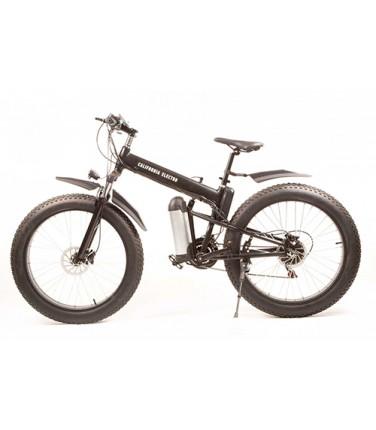 Электровелосипед California Electro - Fatbike Black | Купить, цена, отзывы
