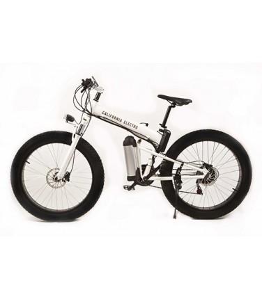 Электровелосипед California Electro - Fatbike White | Купить, цена, отзывы