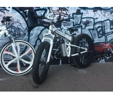 фото Электровелосипед California Electro - Fatbike White