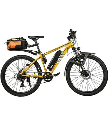 Велогибрид Eltreco XT-700 LUX 2 Yellow    Купить, цена, отзывы