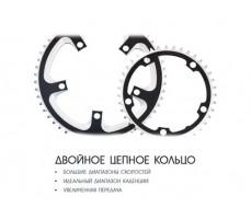 фото цепное кольцо Электровелосипед Haibike SDURO Trekking 6.0 men 500Wh 20s XT Black