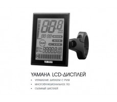 фото LCD дисплей Электровелосипед Haibike SDURO Trekking 6.0 men 500Wh 20s XT Black