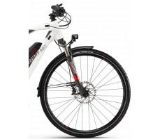 фото амортизатор Электровелосипед Haibike SDURO Trekking 6.0 men 500Wh 20s XT White
