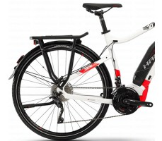 фото багажник и сидение Электровелосипед Haibike SDURO Trekking 6.0 men 500Wh 20s XT White