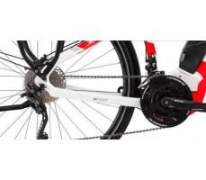фото переключатель Электровелосипед Haibike SDURO Trekking 6.0 men 500Wh 20s XT White