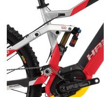 фото рама Электровелосипед Haibike XDURO Dwnhll 10.0 500Wh 10s Saint