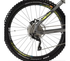 фото переключатель Электровелосипед Haibike XDURO NDURO 9.0 500Wh 20s XT