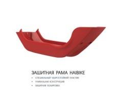 фото защитной рамы электровелосипеда Haibike XDURO Race S 6.0 500Wh 11s Rival